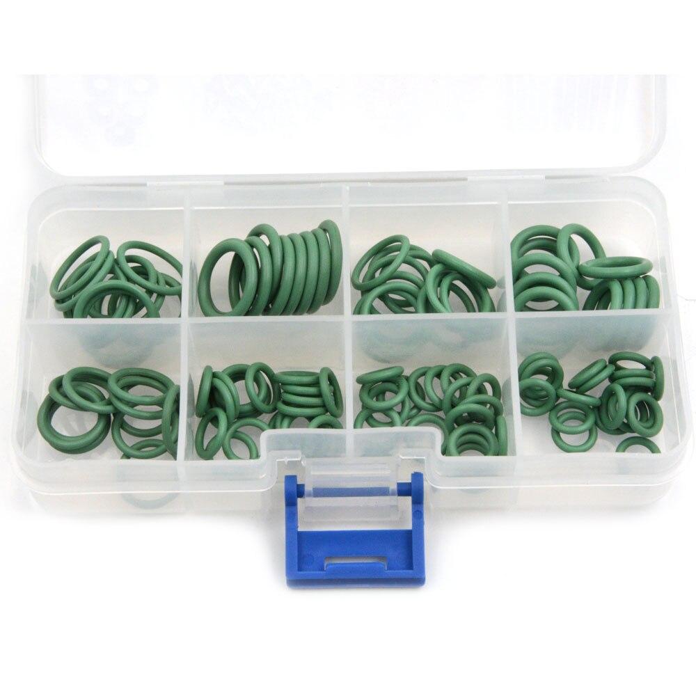 Gzhengtong зеленый 110 шт. и 8 Размеры hnbr автомобилей Ван Кондиционер шайба уплотнительное кольцо комплект резиновое кольцо комплект уплотнений