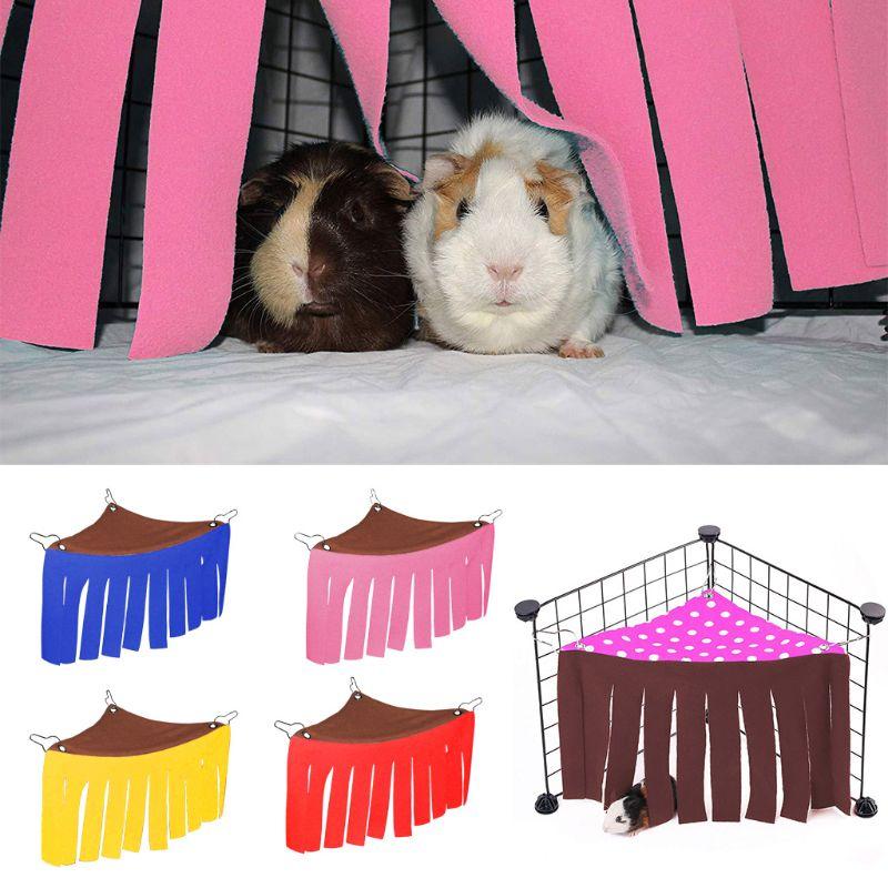 Tienda de hurones conejillos de indias escondite para mascotas pequeñas tienda de vellón erizos conejo de juguete Accesorios de fotografía para recién nacidos, gorro de ganchillo de conejo para bebé, juguetes de conejo, gorro para sesión de fotos para bebés y niñas, accesorios de fotografía para recién nacidos