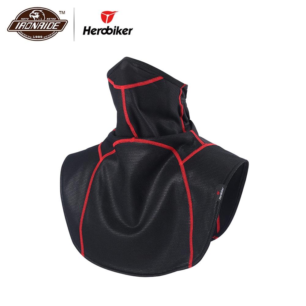 HEROBIKER Motorcycle Face Mask Windproof Autumn Winter Thermal Fleece Ski Mask Moto Cycling Training Motorcycle Mask Cloak