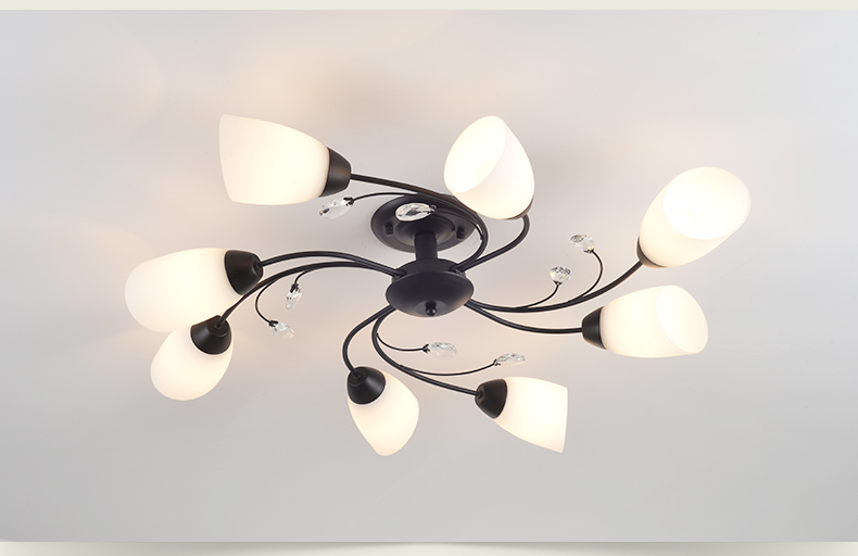 DX Rotate Flowe rLed Chandelier (4)