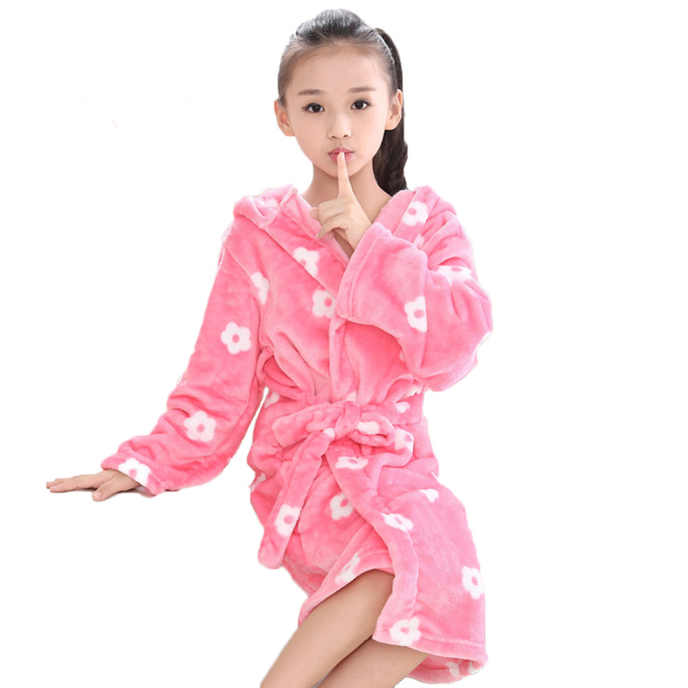 Girls Robes. Do you remember putting on your first of many girls robes? The soft plush feeling turning a cold morning into a warm wakening. Now your little angel can enjoy these same soft mornings with her own girls bathrobe.