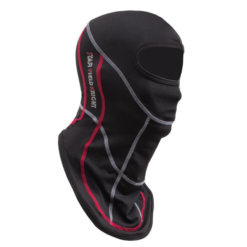 Men's Motorcycle Face Mask Motorcycle Riding Neck Face Mask Moto Balaclava Uv Protection Mask Breathable Helmet Shield