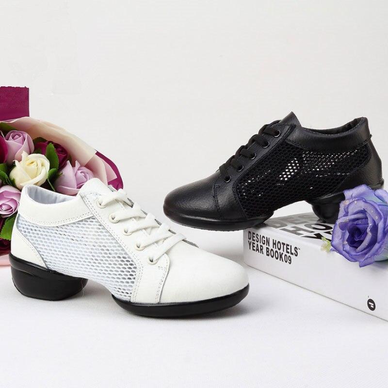 MoveFun 2017 Breath Dance Sneakers Jazz Sko Kvinder Piger Blød Udsol - Kondisko - Foto 5