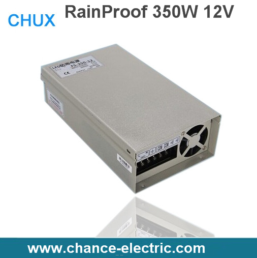 CE approved 350w metal case single output reliable rainproof power supply 350w 12v 29A low price(FY-350W-12V)
