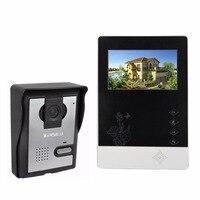 4 3 Color Video Door Phone Doorbell Intercom Kit IR Night Vision Camera Monitor For Villa