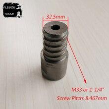 """1-1/""""(резьба M33) Алмазный сверлильный адаптер для Dimaond Core Bit Adapter M33 To M22 вращающееся соединение"""