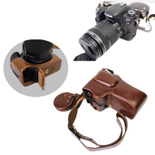 Новые роскошные видео Камера сумка для Canon 77D 800D защитную крышку Камера чехол с ремешком + мини мешок + открытым Батарея