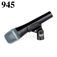 Professional XLR Super cardioid Vocal Dynamic Mic Karaoke Microphone For e 945 e945 Conference Music Studio DJ Amplifier Speaker