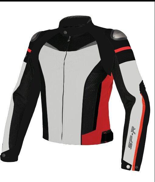Moto Racing Dain Super vitesse Textile veste Moto veste d'équitation doublure en coton amovible