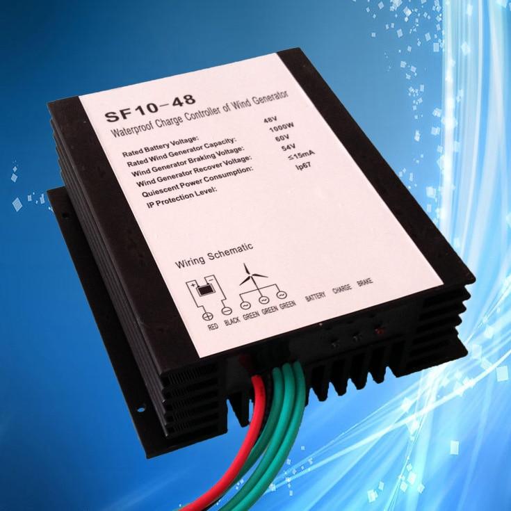 1000W 1500W 2000W Wind Generator Charge Controller 24V 48V 96V WaterProof Wind Turbine Generator Regulator Charge