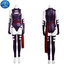2017 Cosplay Costume X-Men: Apocalypse Psylock Roleplay Jumpsuit Cosplay Women Basic Coats Custom Made Free Shipping цена и фото