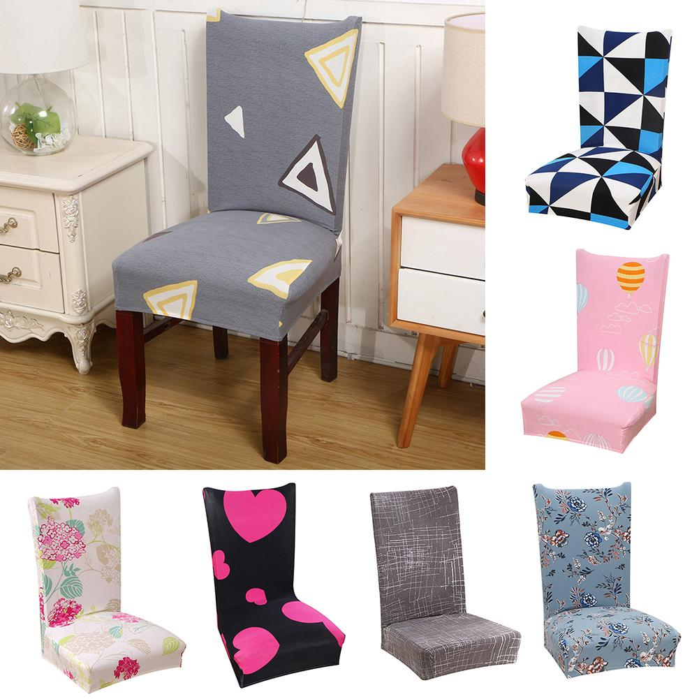 Awesome Us 6 11 25 Off Flower Heart Cloud Design Triangle Elastic Seat Chair Cover Restaurant Dining Decor In Chair Cover From Home Garden On Aliexpress Machost Co Dining Chair Design Ideas Machostcouk