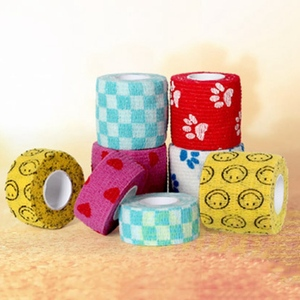 Image 3 - 1 Pc Tape Waterproof Self Adhesive Elastic Bandage Muscle Tape Finger Joints Wrap Therapy Bandage Care 2 Sizes