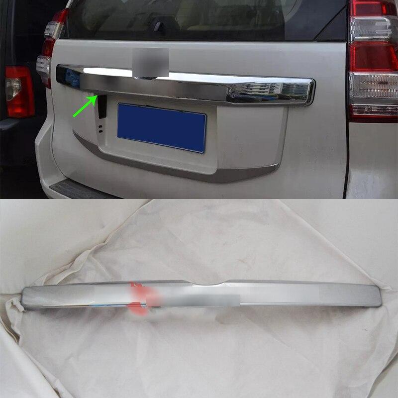 OUBOLUN ABS accessoires de voiture De Voiture corps kits arrière tronc streamer couverture Pour TOYOTA 2014 Prado