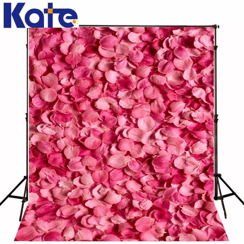 Kate Flower Backdrop Wood Floor Wall Photography Backdrops Wedding Backdrop Customize Seamless Background Photo 10ft 20ft romantic wedding backdrop f 894 fabric background idea wood floor digital photography backdrop for picture taking