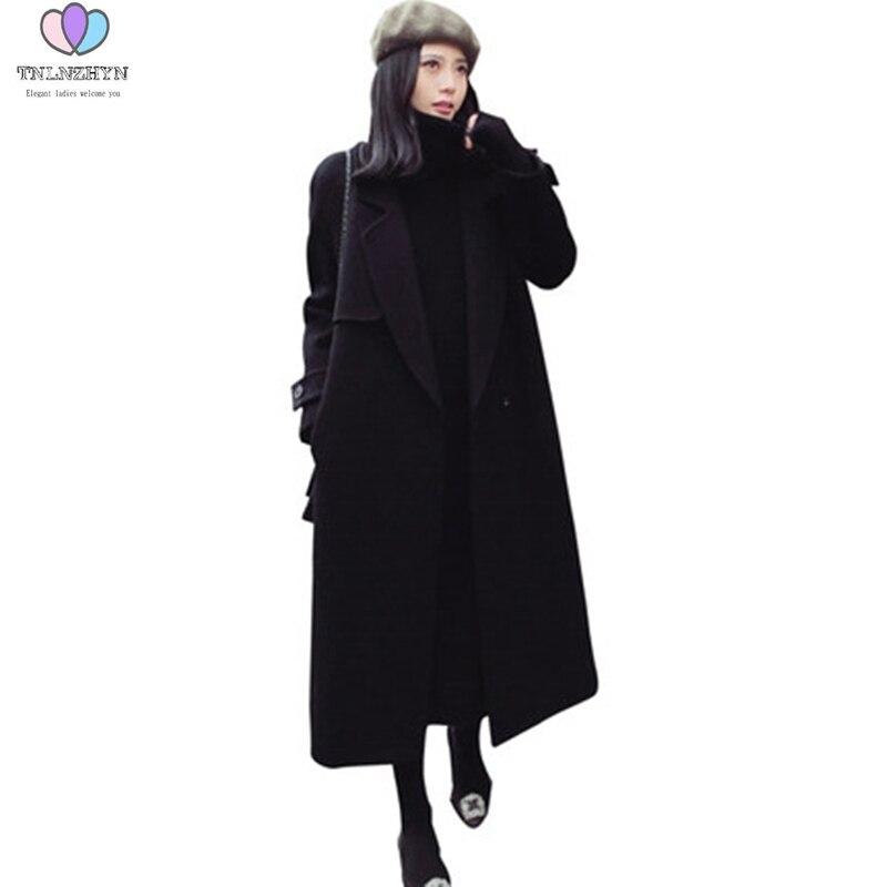 Più Le Abbigliamento Caldo Inverno Formato Face Alta Donne Parka Double Lana Black Di Addensare Giubbotti Cappotto Cachemire Femminile end 2019 JF3TlK1c