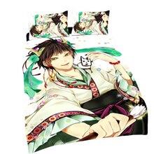Hozukiないreitetsuアニメhakutaku 150*210センチ片面キルトカバー#40152