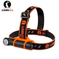 Lumintop hl18 XP-L HD 950 люмен USB Перезаряжаемые Магнитная хвост мини 18650 светодиодный фонарик IPX-6 мощный факел с повязка на голову