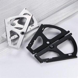Image 5 - 1 set/2 pcs sacchetto del Pattino Armadio Ferramenteria e attrezzi cornice di vibrazione In Acciaio Inox Cabinet cerniera asta di sollevamento Ferramenta per mobili