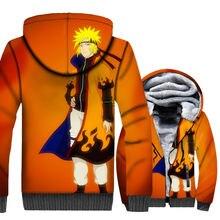 Naruto 3D Hoodie Winter Warm Fleece Jacket