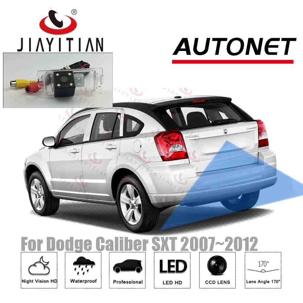 JIAYITIAN Rear View Camera For Dodge Caliber SXT 5D 2007 2008 2009 2010 2011 2012 Ccd Reverse Camera License Plate Camera Backup