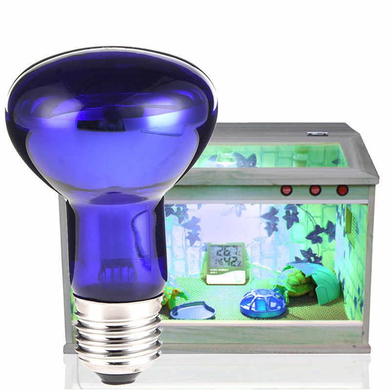 Kaigelin Aquarium Lamp E27 UVB Light Bulbs For Reptiles 25W 50W 75W 100W Thermal Light UV Bactericidal Lamp 220-230V