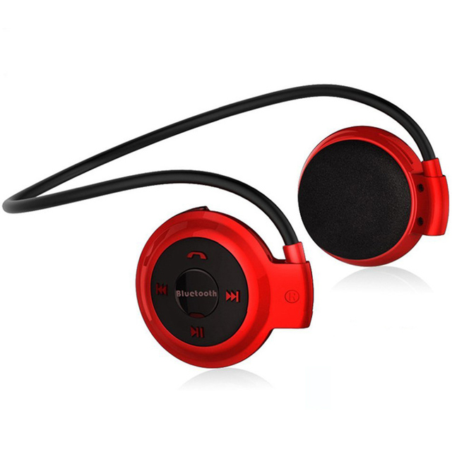 NVAHVA MP3 Player Bluetooth Headphone, Wireless Sport Headset MP3 Player With FM Radio, Stereo Earphone TF Card MP3 Max to 32GB