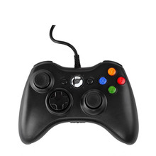 hot selling Wired control gamepad For xbox360 pc usb computer PC cable game controller double vibration