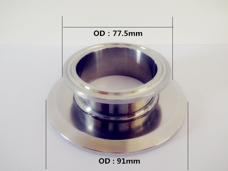 Free Shipping  Short Type Tri Clamp Reducer 2.5