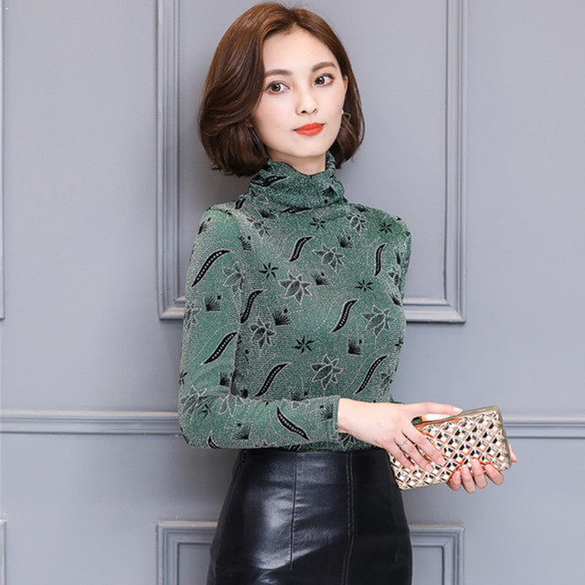 2017 Spring Winter Warm T shirt Women Tops Plus Velvet Thick Long Sleeve  Slim Turtleneck Vintage a3b782849300