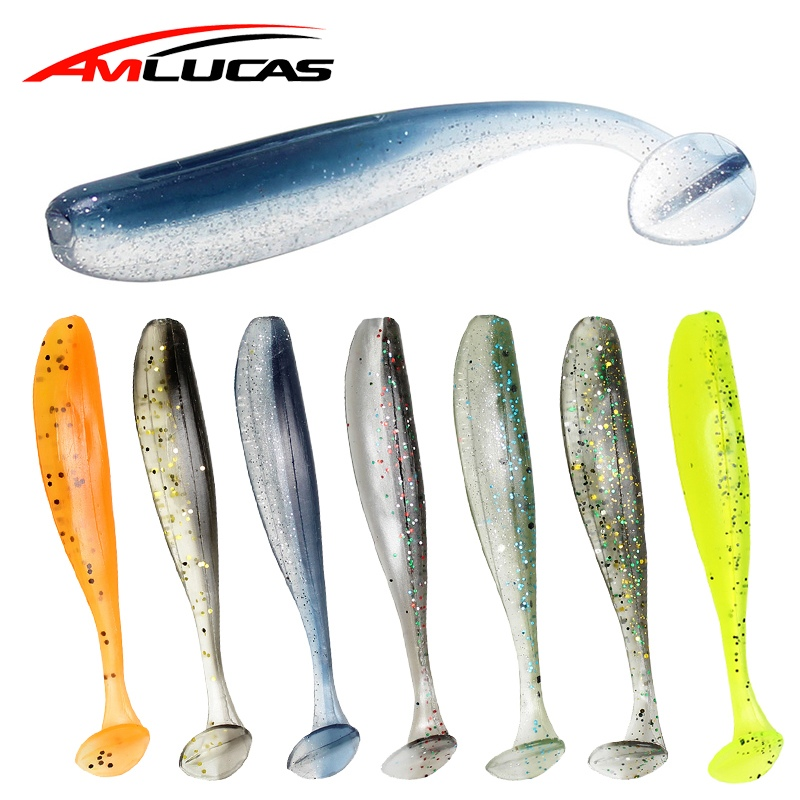 Amlucas 75mm 2.1g 6pcs Wobblers Fishing Lure Silicone Bait Swimbait Shad Minnow Carp Fishing Artificial Soft Bait WW1027 женские часы furla r4253101502