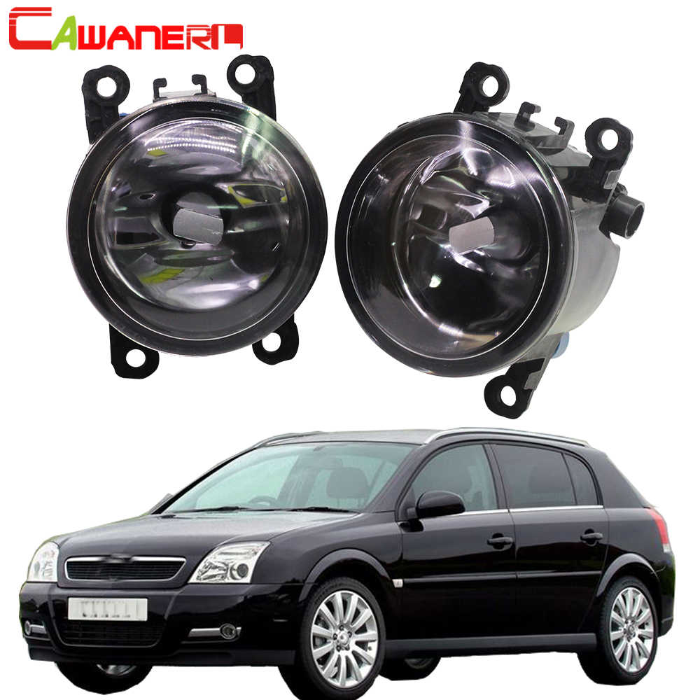 Cawanerl For 2003-2015 Opel Signum Hatchback Car Styling Front Fog Light Assembly Lampshade + H11 LED / Halogen Lamp DRL 12V