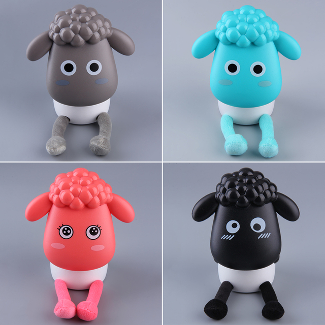 Electric USB Rechargeable LED Portable Lamp Happy Sheep Lamp Desk Light  hot sales