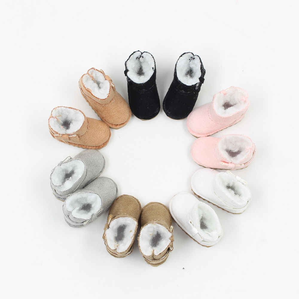 1/6 Blyth doll  shoes warm Snow Boot with 6 styles for chossing suitable for Rubber and Joint body doll it suitable for 1/6 doll