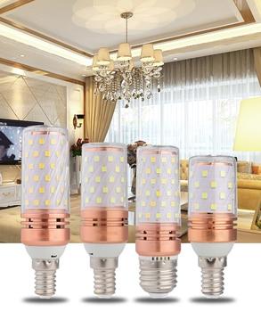 6Pcs 8W/12W/16W LED Corn Light Bulb Energy Saving Lamp E27/E26/E14 Hi-Bright Replacement Lighting CRI 80 Living Room