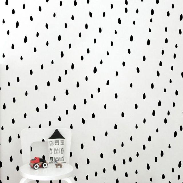 Hand Drawn Watermelon Seeds Wall Decal Vinyl Stickers Irregular