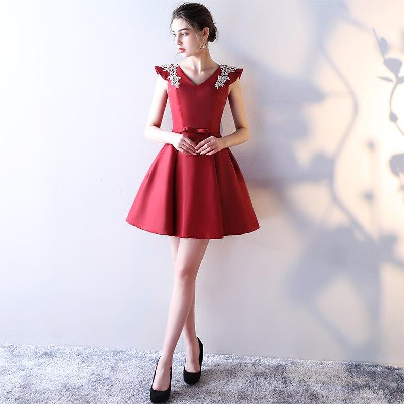 Beading Sequins Cap Sleeve Satin Lace Evening Dress 3