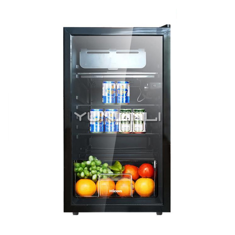 Household Mini Refrigerator 92L Single door Refrigerator Small size Direct Cooling Fridge for Home/Dormitory BC 92B