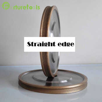цена на 4 6 inch diamond grinding wheel metal bond abrasive tools for glass round/straight/v edge glass shape edging machine M004