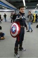 Новинка 2014 года Горячие Капитан Америка 2 Капитан Америка наряд мужские Костюмы Косплэй костюм фильм Superheros форма индивидуальный заказ