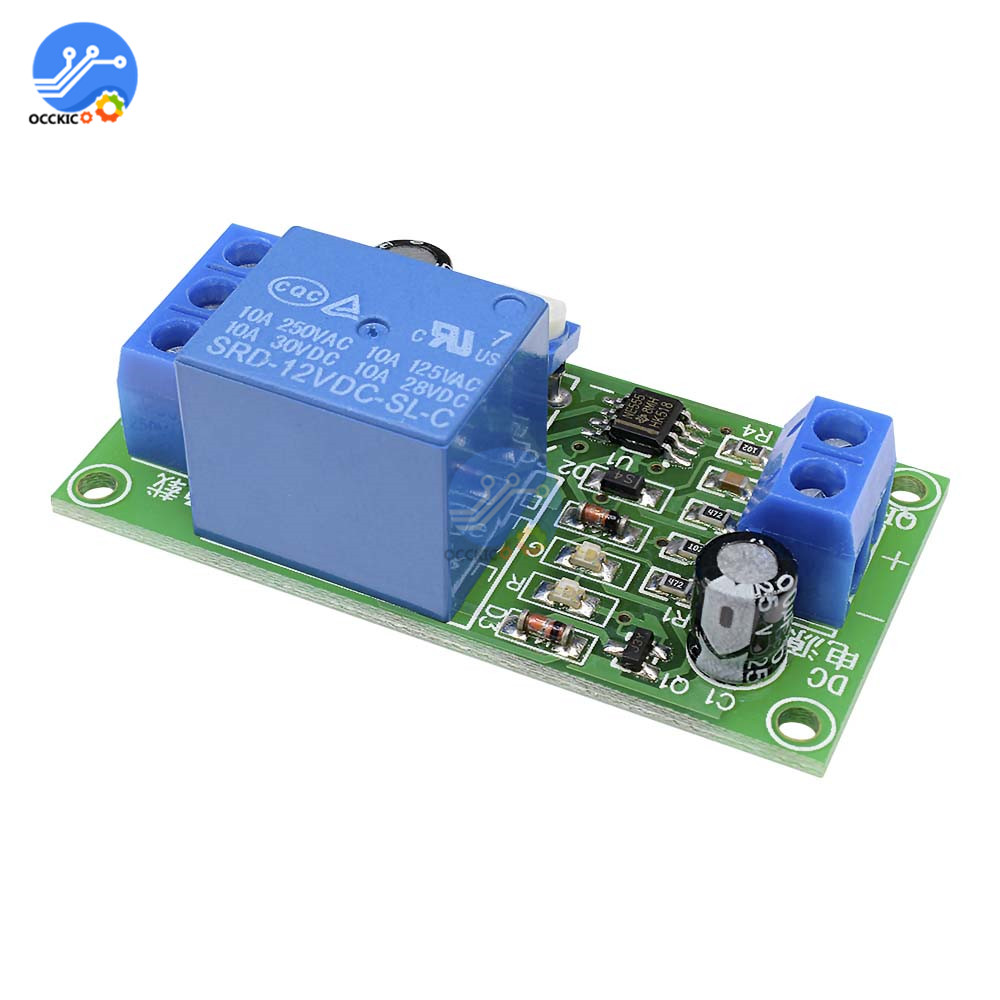 Timer Circuit With Relay Timer Control Relay Switch