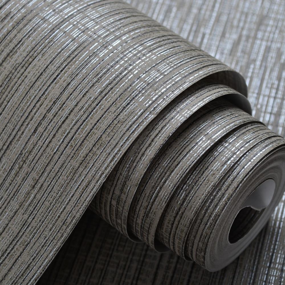 Silver grey wallpaper reviews online shopping silver for Wallpaper roll for walls