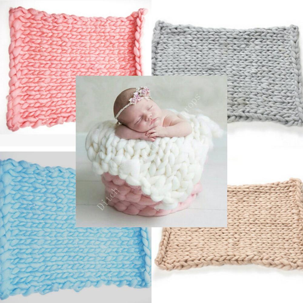 50*40 Cm Newborn Photography Blanket Basket Filler Photography Background Photographic Fabric