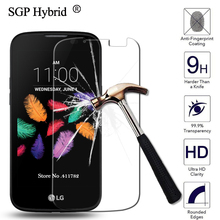 Для LG K3/K3 2017 Экран протектор Закаленное Стекло Плёнки 9 H 2.5D Премиум Защитная Плёнки чехол для LG k3 K100 k100ds ls450