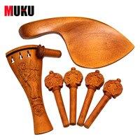 violin Part 4/4 Boxwood Violin accessories high grade violin accessories set Hand carved Very precious