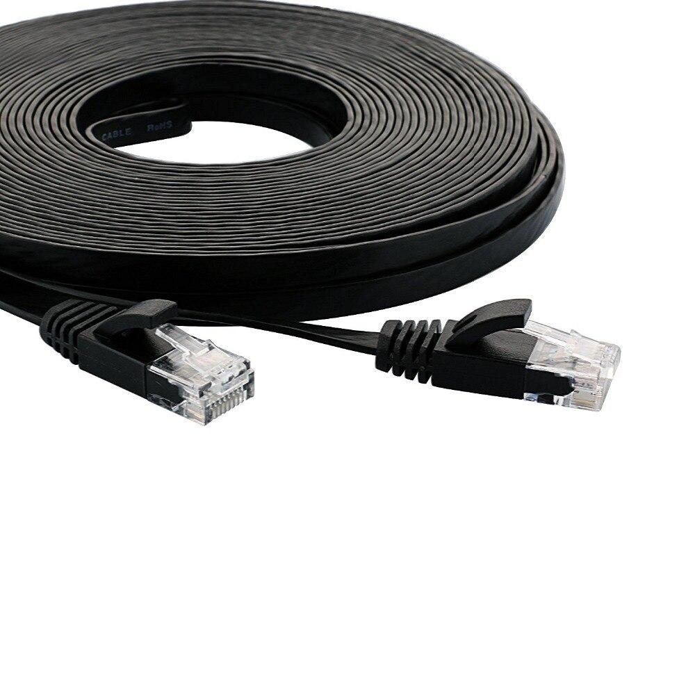 # V001 Cavo Ethernet Cat6 Lan Cavo UTP CAT 6 Cavo di Rete RJ45 15cm25cm/0.5 mPatch Cavo per il Computer Portatile router RJ45 Cavo di Rete