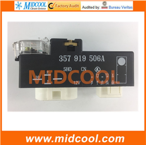 New Free Shipping Radiator Cooling Fan Control Relay Switch 357 919 506 A 357919506A