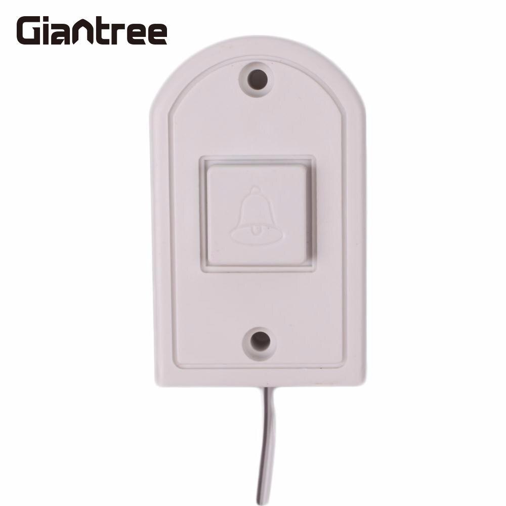 Gaintree Новый проводной Электронный Дверные звонки Белый дом дверной звонок ABS поставки Интимные аксессуары 86 см для дома безопасности