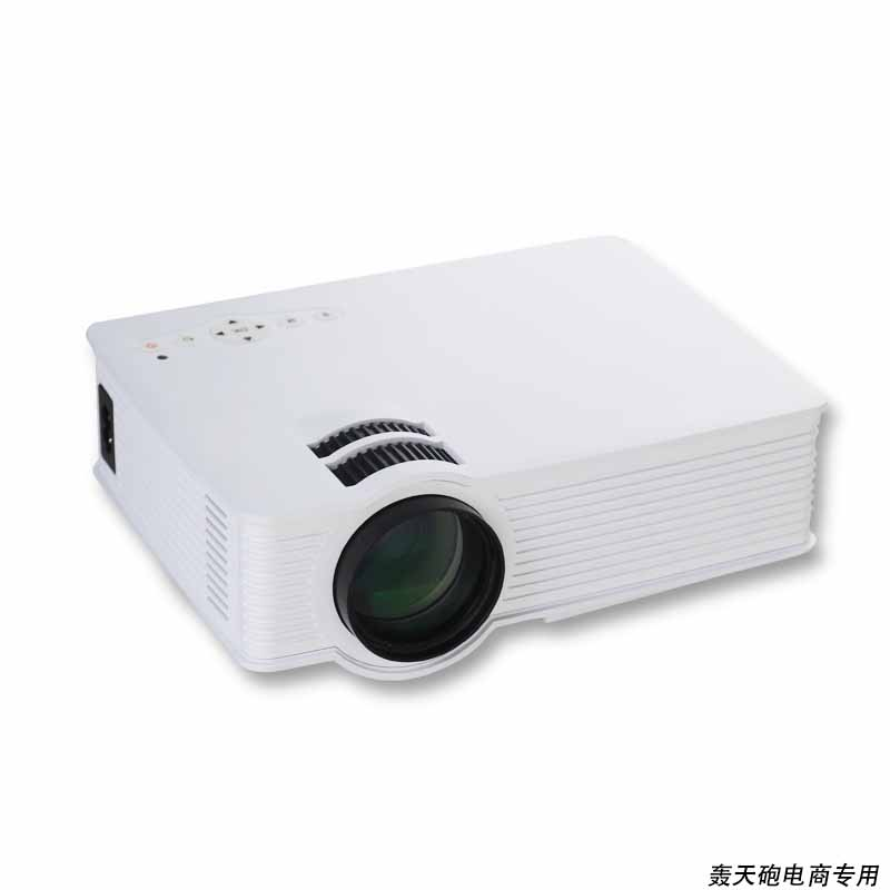 2015 Newest HD LED LCD Projector GP9 Mini Projektor Game Beamer Home Theater HDMI AV USB SD