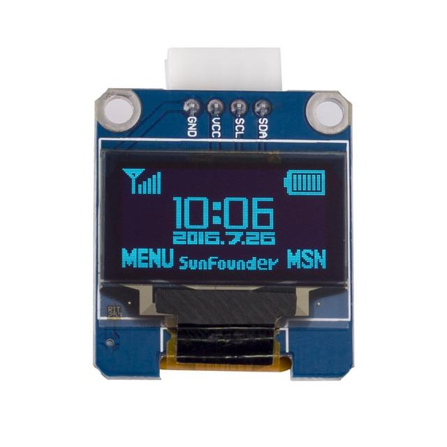 SunFounder OLED SSD1306 Модуль для Arduino и Raspberry Pi